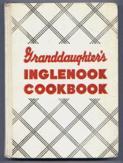 Grandaughter's Inglenook Cookbook 1958
