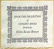 helen evans brown bookplate