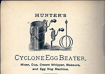 hunter sifter cyclone egg beater