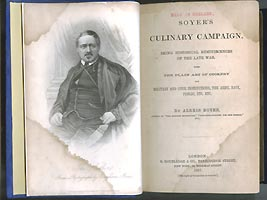 title page of soyer's culinary campaign