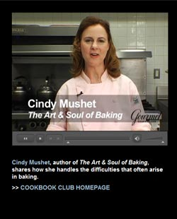 cindy mushet baking problems video